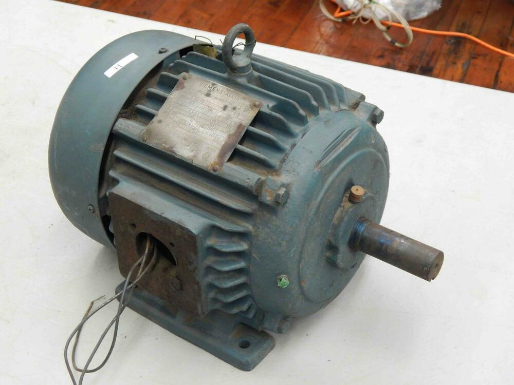 Electric Motor 184tc Frame