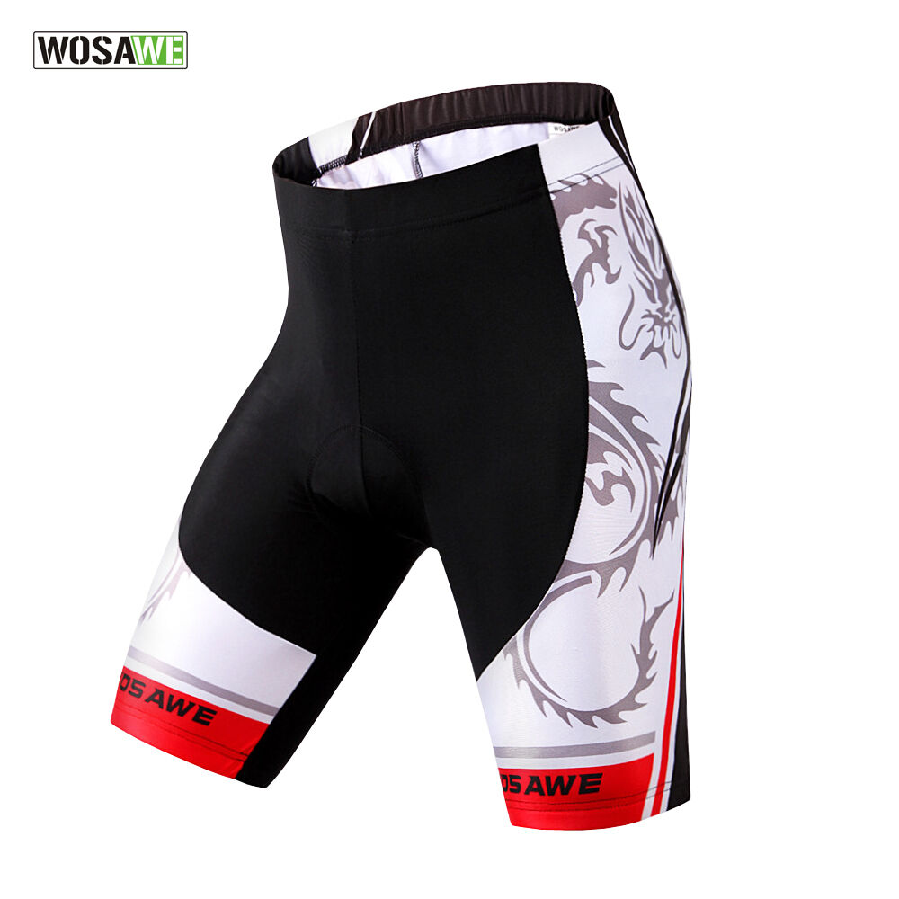 Cycling Shorts Men Bicycle Gear Tights 4D Gel Padded Lycra