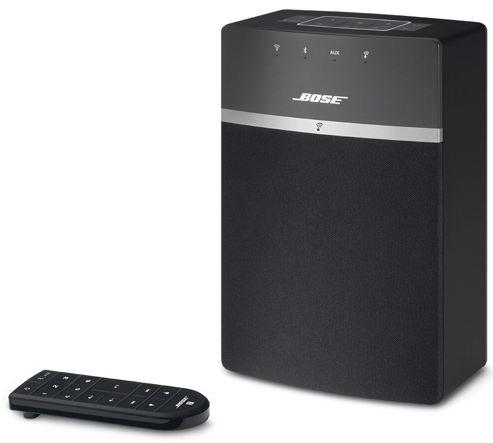 bose soundtouch 10 wireless music system with bluetooth. Black Bedroom Furniture Sets. Home Design Ideas