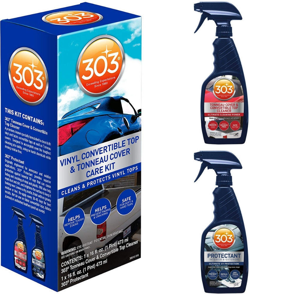 303 vinyl convertible top kit cleaner protectant ford car free shipping 30510 ebay. Black Bedroom Furniture Sets. Home Design Ideas