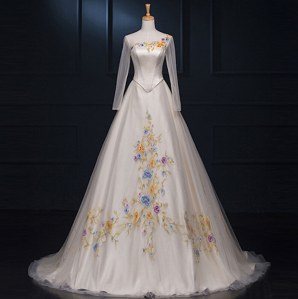 Cinderella Wedding: Cenerentola Sposa Vestiti Carnevale Donna Wedding Dress