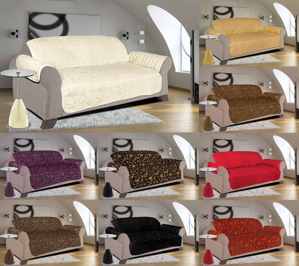 sofa slip cover jacquard quilted furniture pet protector