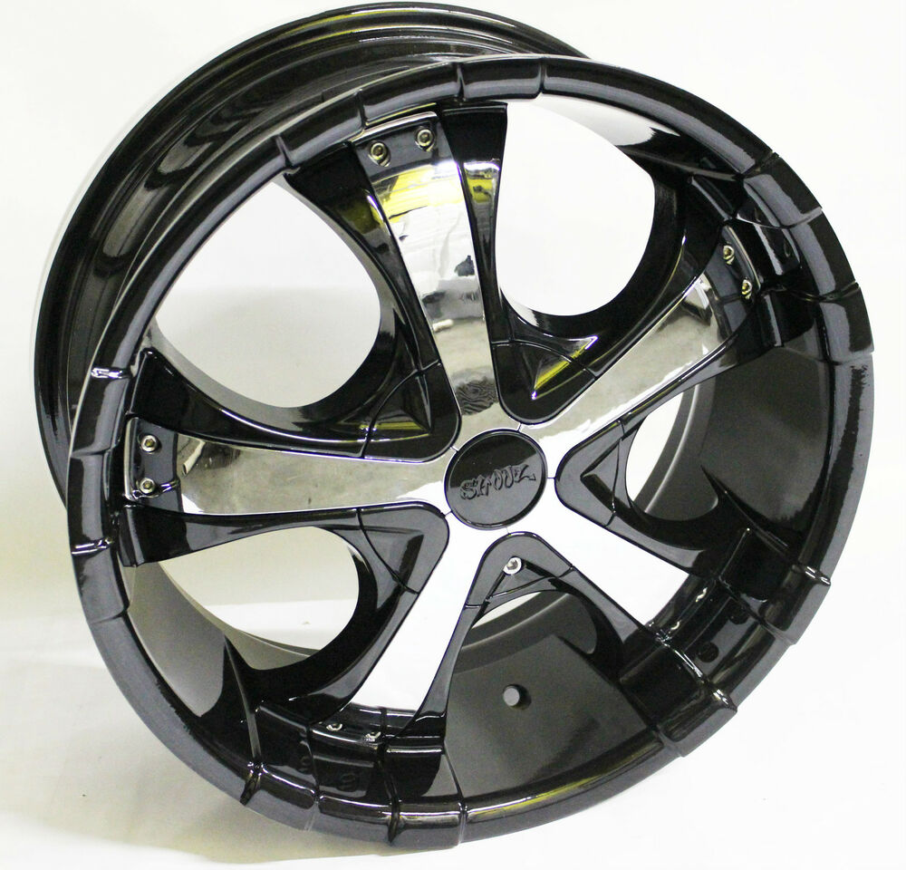 Bmw X5 Wheels: 17x7.5 SHOOZ Wheels Rims Black 5x112/120 M5 X3 X5