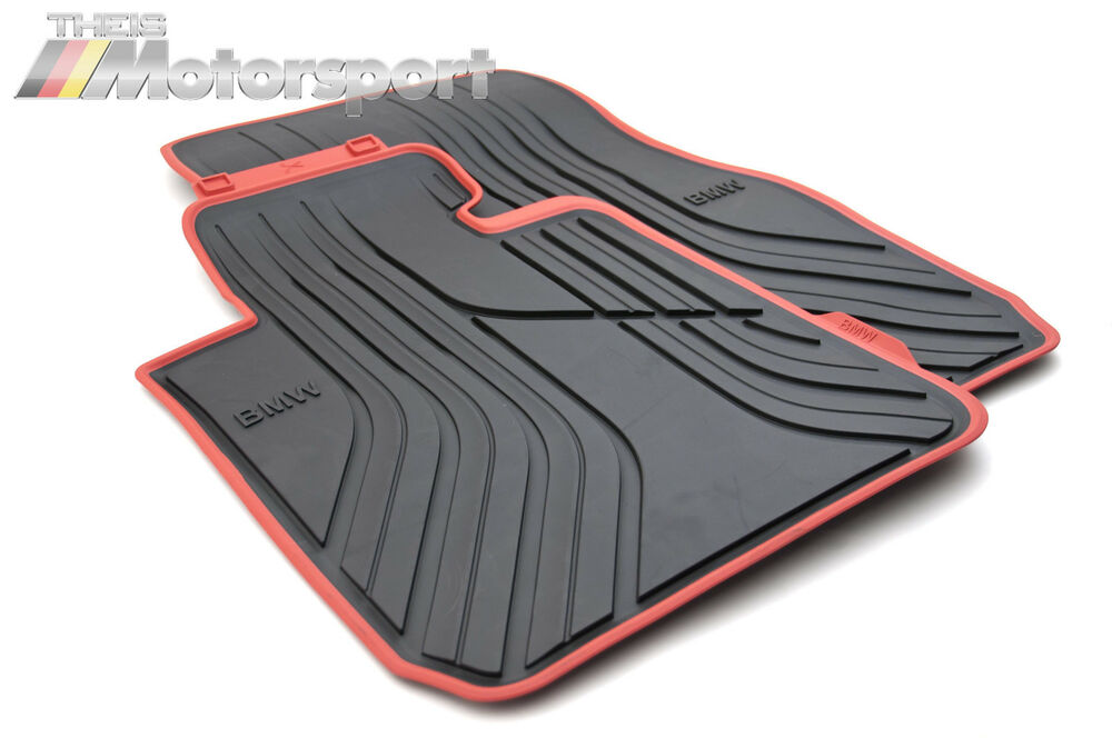 Bmw All Weather Floor Mats 3 Series BMW Sport Line All Weather Floor Mats F30 F31 F34 F80 3 Series GT M3 ...