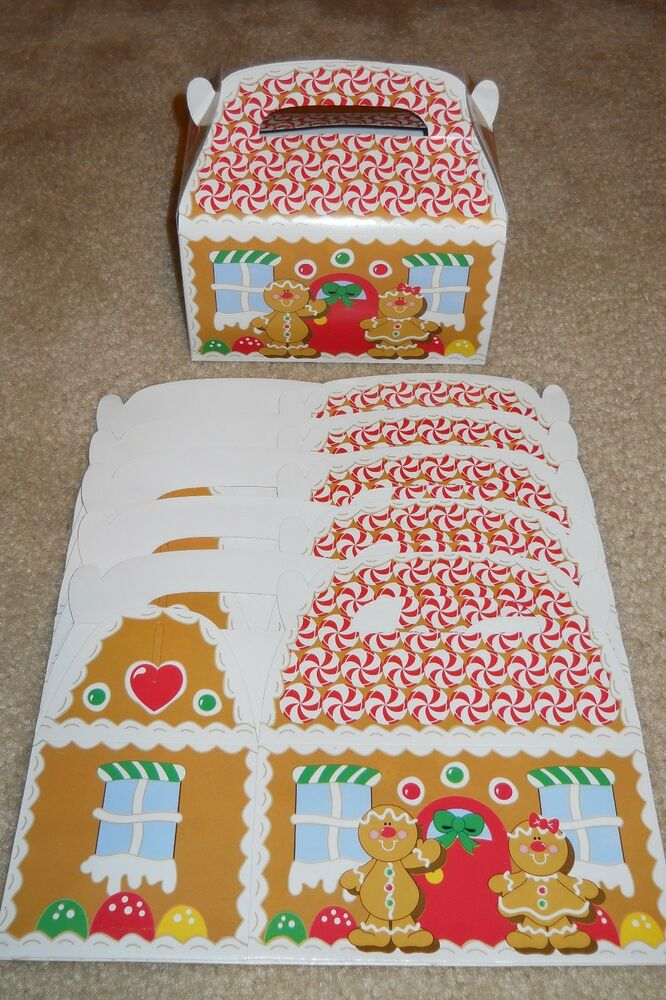 Lot of or gingerbread house christmas holiday treat