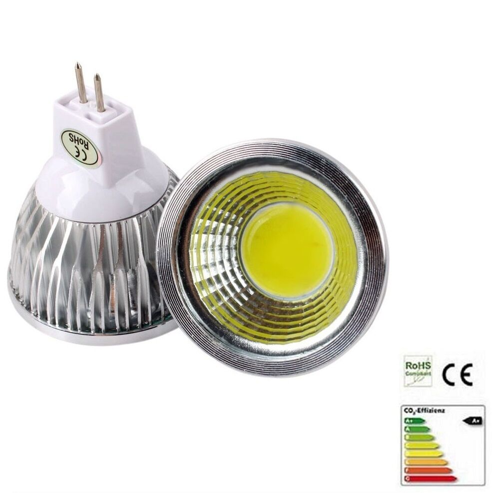 led cob 3watt dimmbar cree led smd gu5 3 12volt ebay. Black Bedroom Furniture Sets. Home Design Ideas