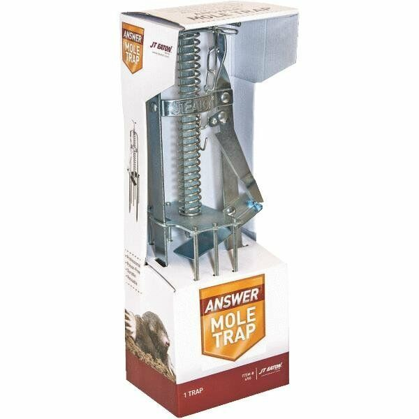 2 PACK HARPOON PLUNGER MOLE TRAP THE BEST TRAP AROUND