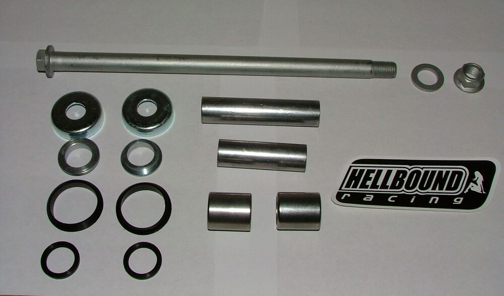 New Honda 400ex 400 Ex Swingarm Sleeve Seals Bearings And