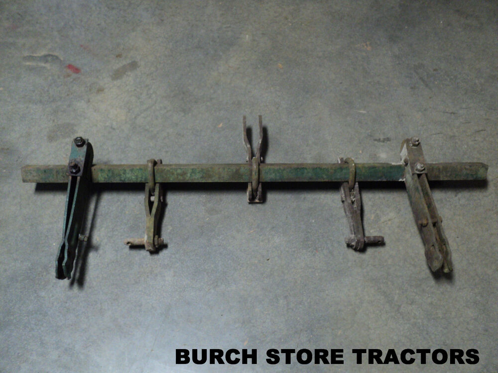 Oliver Three Point Hitch : Rare oliver or super point hitch toolbar with