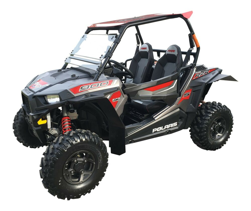 2016 RZR-S 1000 UTV mud flaps fender flares by MudBusters ...