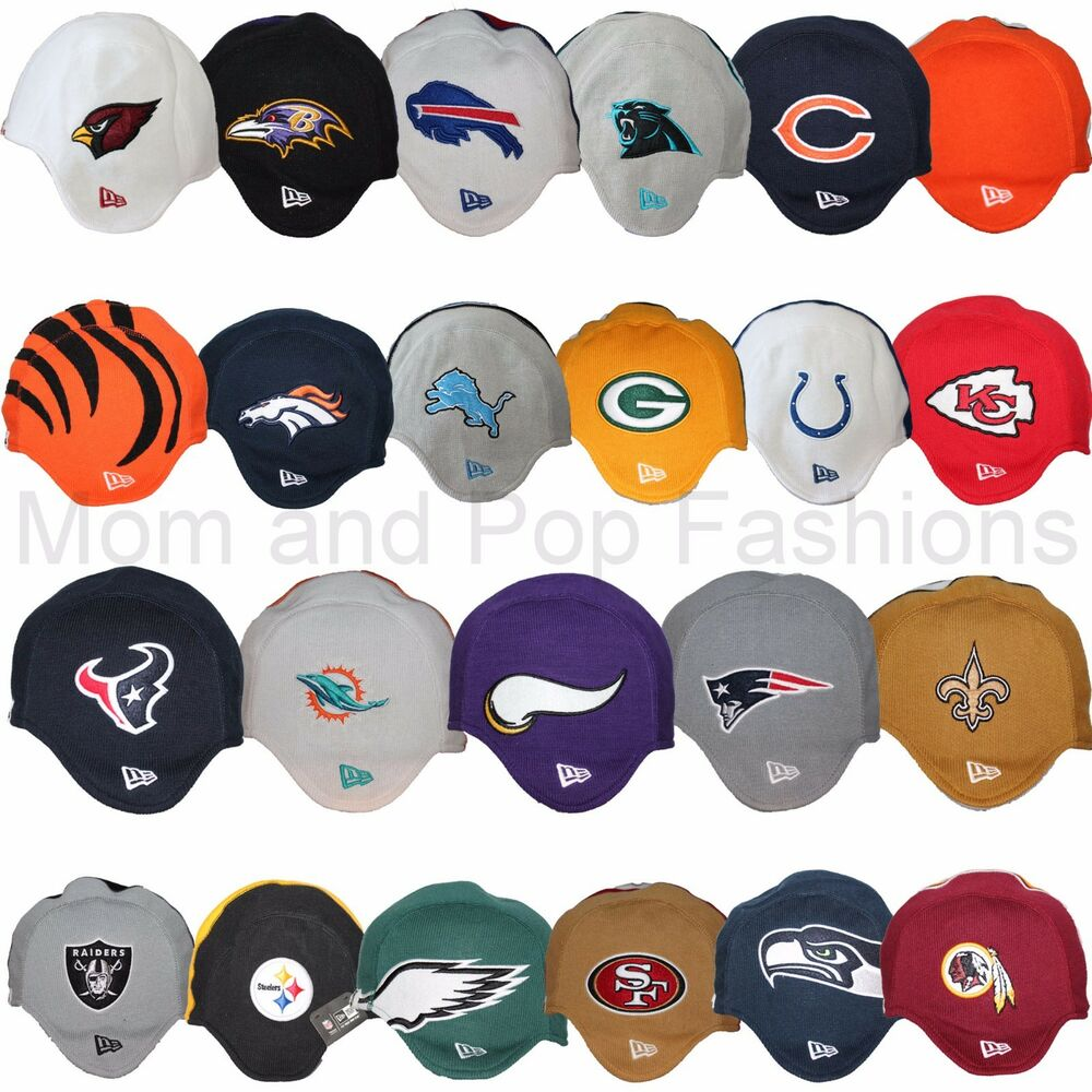 Details about New Era NFL Helmet Knit Beanie Pigskin Collection Many Teams  OSFA Team Colors c0fa88f10