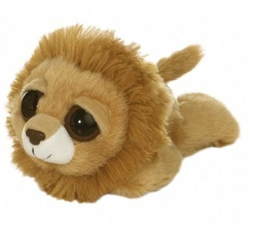 6 laying lion plush stuffed animal toy new ebay. Black Bedroom Furniture Sets. Home Design Ideas