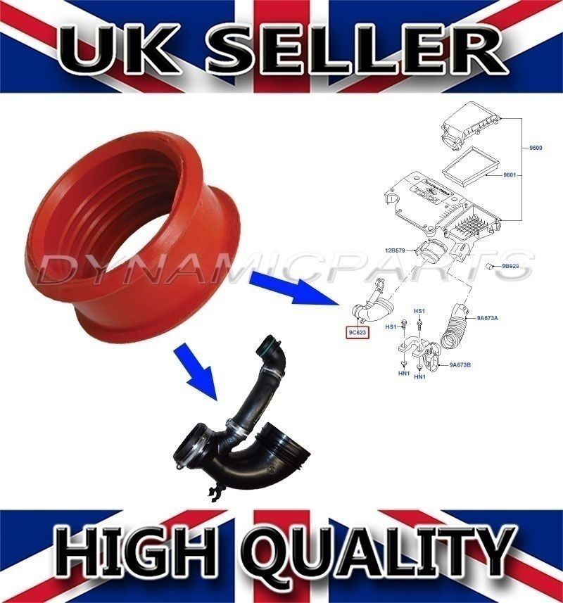 ford focus 1 6 tdi tdci rubber turbo air pipe sleeve 1453909 5s619r504ab ebay. Black Bedroom Furniture Sets. Home Design Ideas