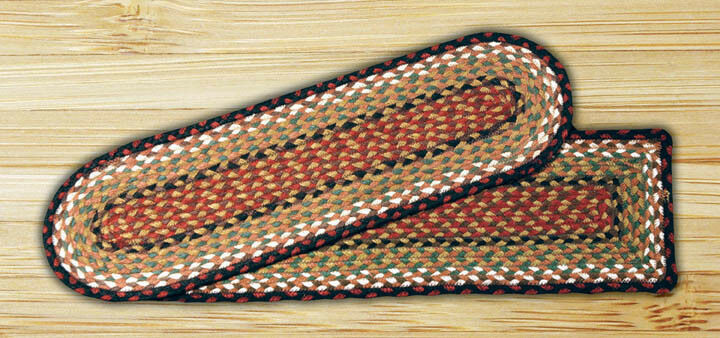 Braided Jute Earth Rugs Stair Treads Oval New Many