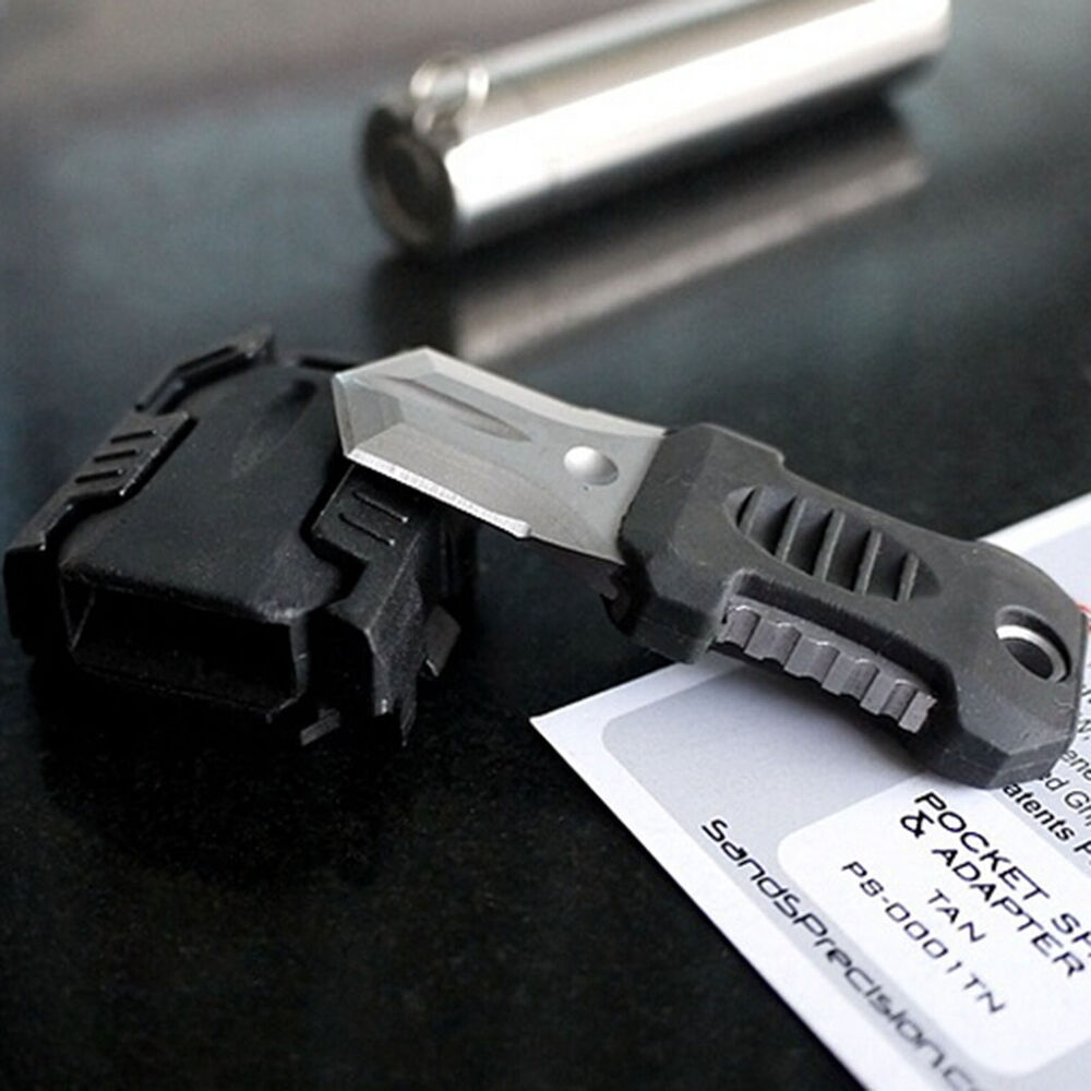 Tactical Gear Mini Stainless Knife Webbing Buckle Outdoor