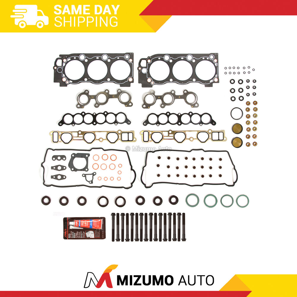 Toyota Tundra 2000 2004 Engine Cylinder Head Gasket: Head Gasket Bolts Set Fit 95-04 Toyota 4Runner Tacoma T100