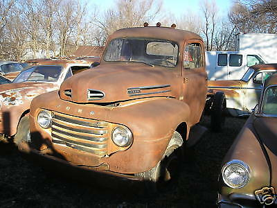 48  1948 Ford F5 hot rat street rod