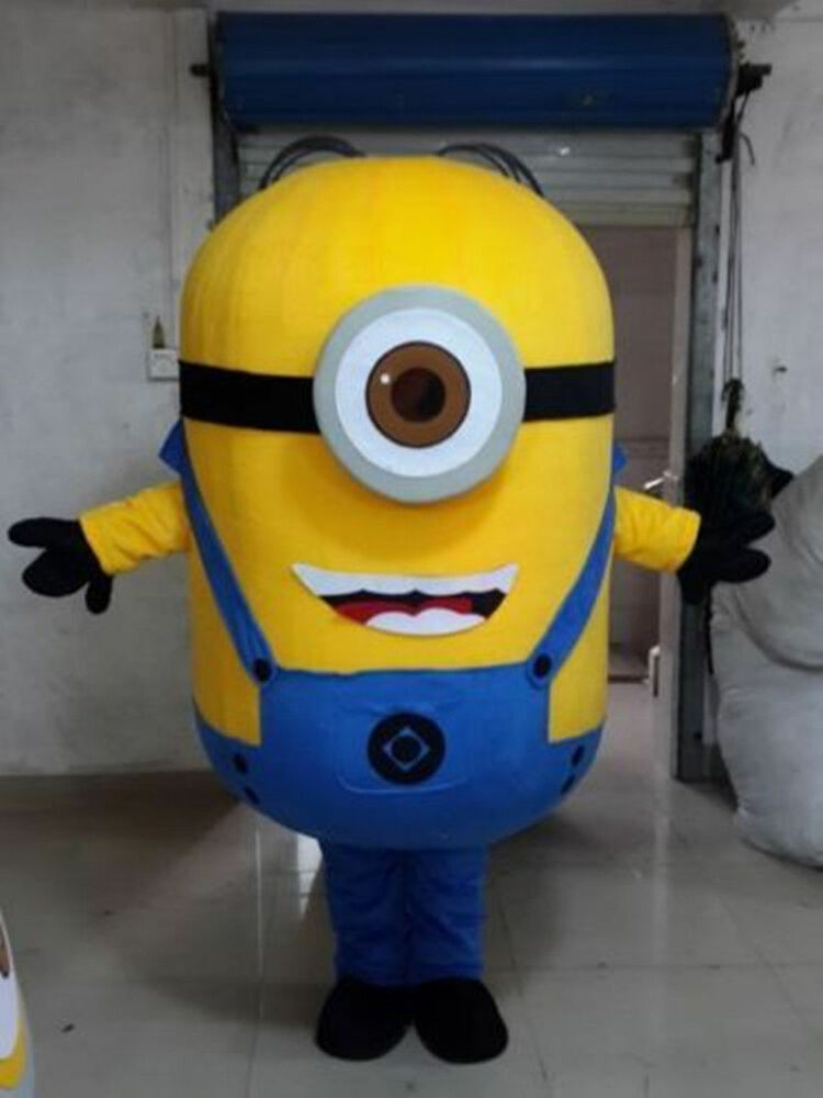 Hot sale!Minions Despicable Me Mascot Costume EPE Fancy ...