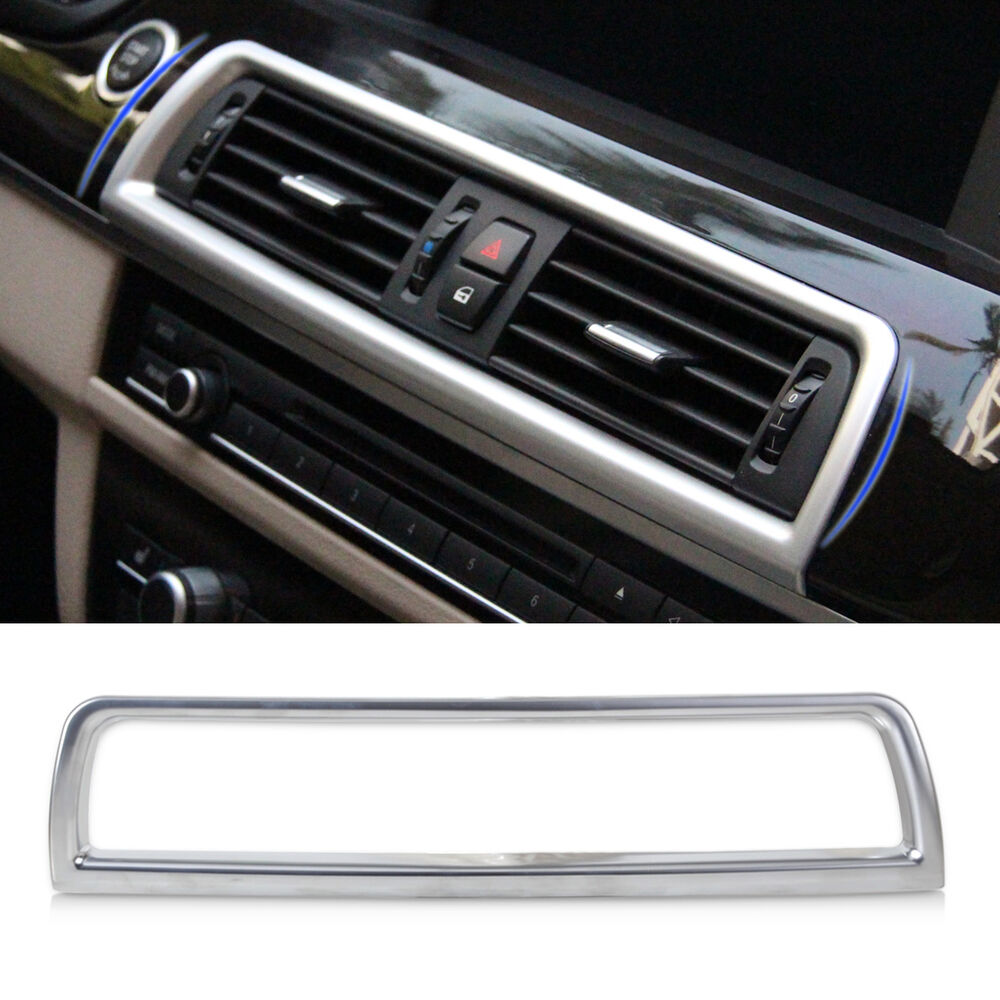 new interior console air conditioning vent decoration cover for bmw 5 series f10 ebay