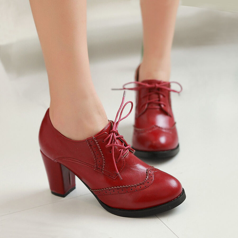 sexy wingtip womens shoes with