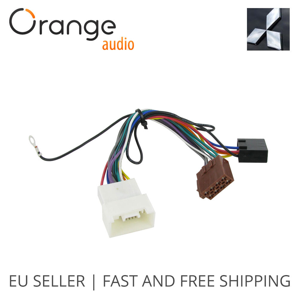 Wiring Harness Adapter For Mitsubishi Lancer 2007