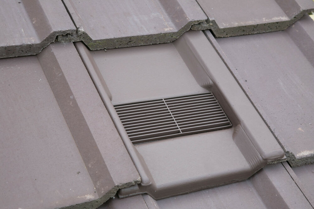 Roof Tile Vent To Fit Marley Wessex Roof Tiles Optional