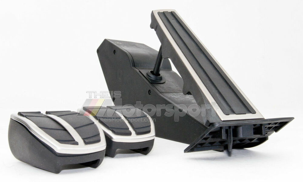 Bmw Stainless Steel Pedal Pads Set Manual Oem 1 3 5 6