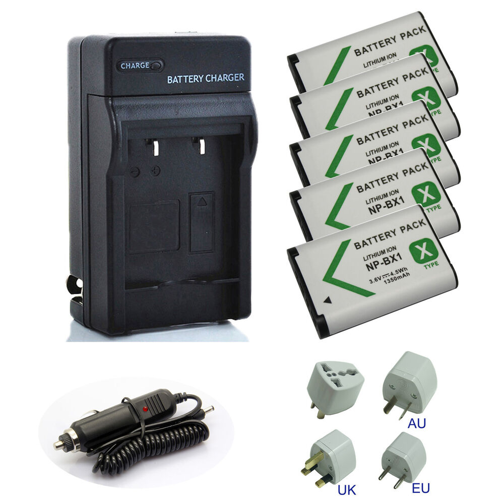 Battery Charger Pack For Sony Handycam Hdr Cx405 B Hdr