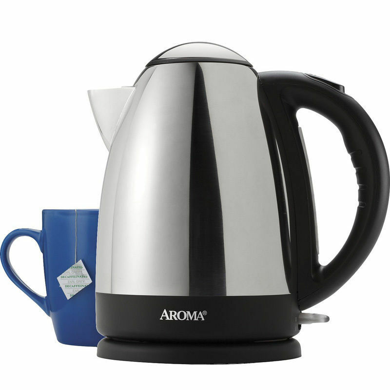 Cordless stainless steel electric kettle cup hot water