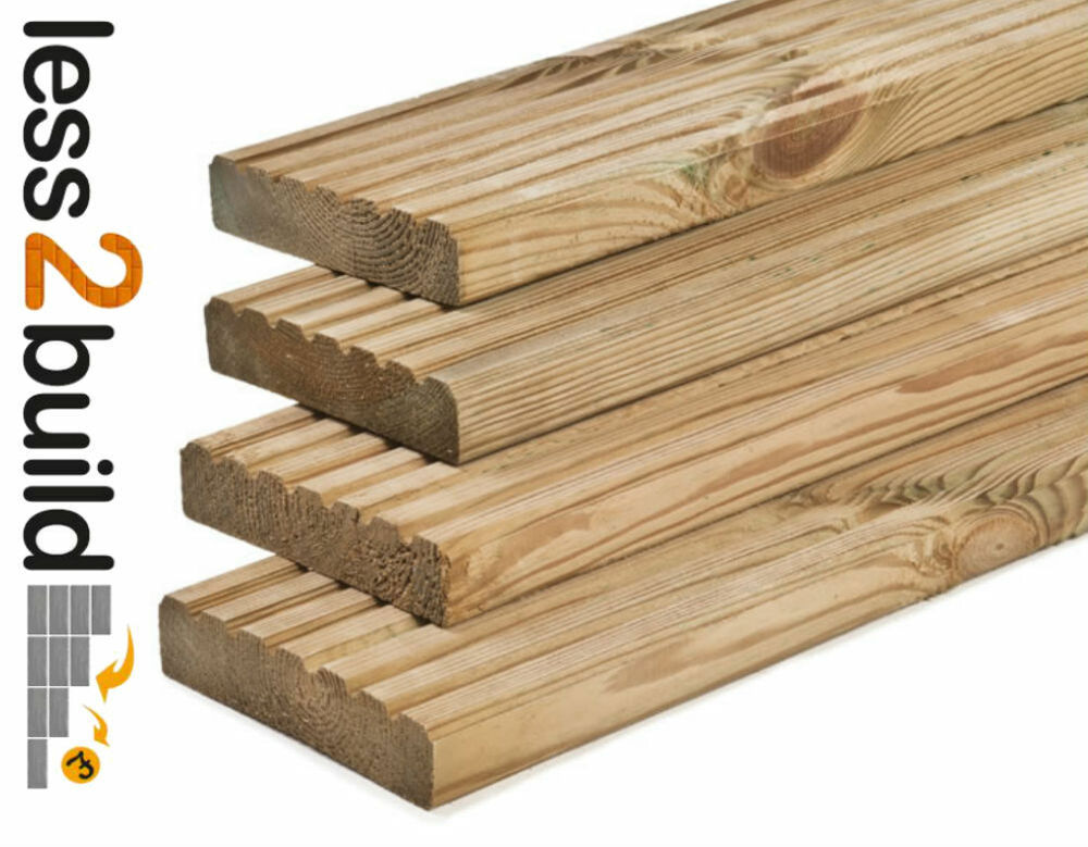 A grade treated decking boards 32x125mm 3 6m long timber for 6 metre lengths of decking
