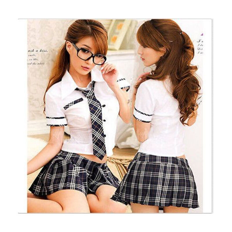 sexy lady japan high school girl dress uniform women adult costume outfit hot ebay. Black Bedroom Furniture Sets. Home Design Ideas