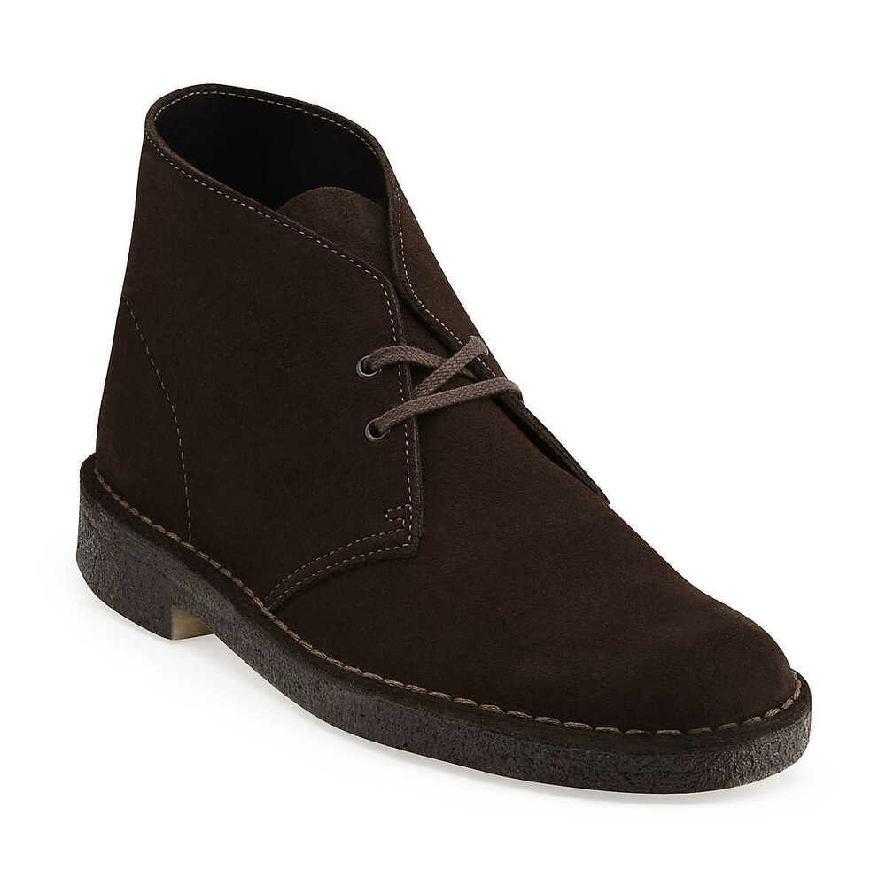 clarks originals desert boot s brown suede style