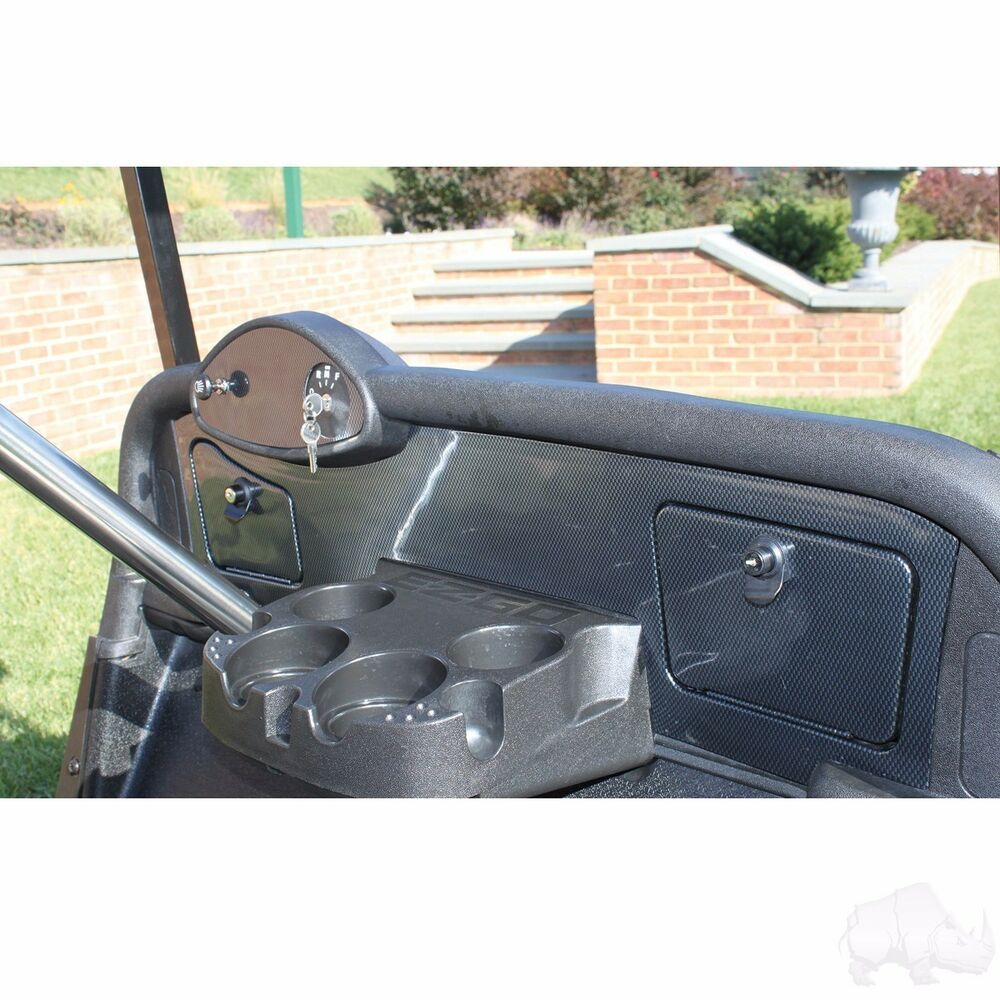 ez go rxv golf cart custom dash board insert carbon fiber. Black Bedroom Furniture Sets. Home Design Ideas