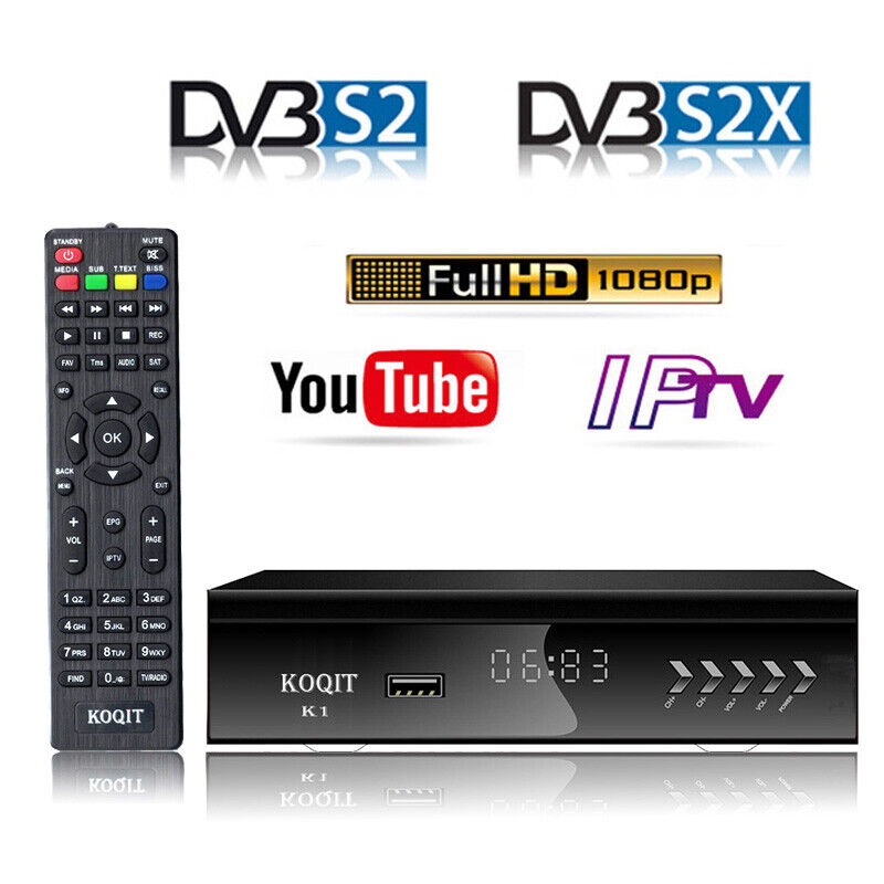 1080p digital dvb s2 ac3 satellite receiver tv tuner wifi iptv combo youtube ebay. Black Bedroom Furniture Sets. Home Design Ideas