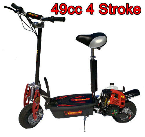 New 4 stroke 49cc gas motor scooter wholesales on offroad for What is a motor scooter