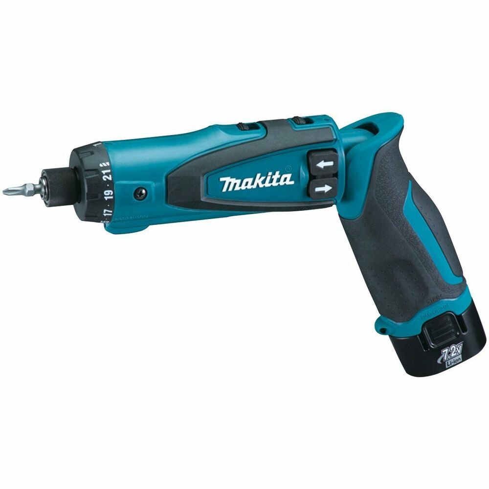 makita df010dse 7 2 volt lithium ion cordless driver drill kit with auto stop 88381091060 ebay. Black Bedroom Furniture Sets. Home Design Ideas
