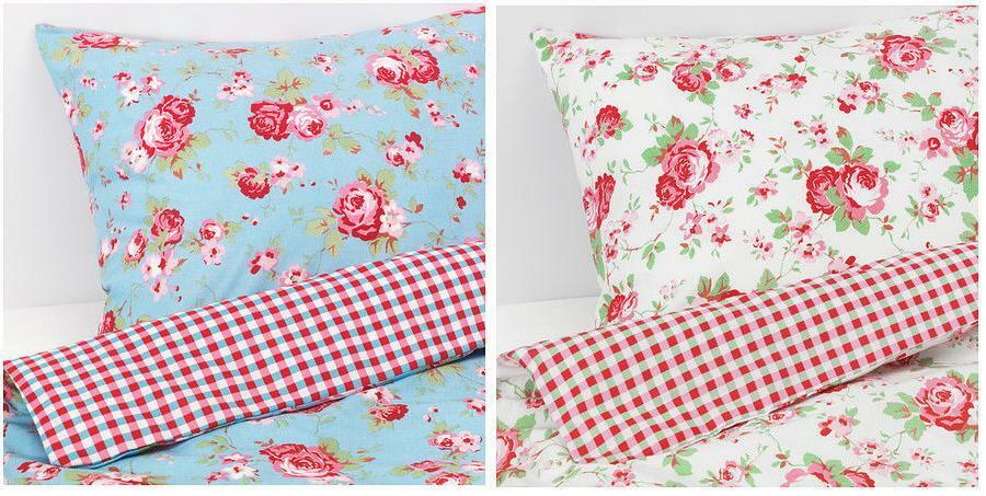 rosali cath kidston bettbez ge kissenbezug bettw sche set ikea sng dz king ebay. Black Bedroom Furniture Sets. Home Design Ideas