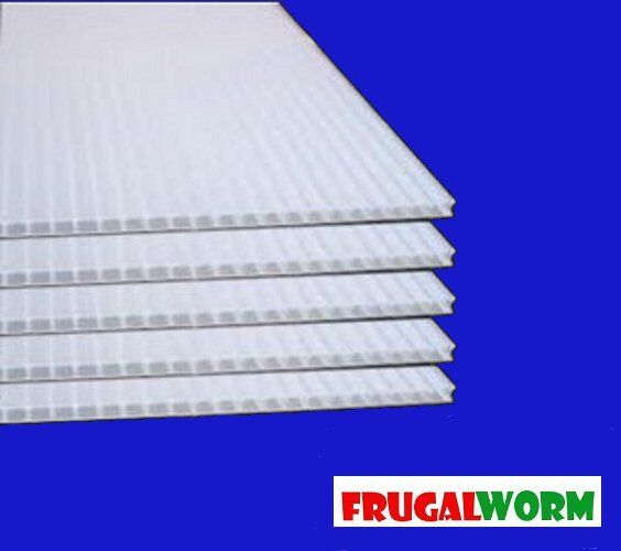 6mm 24 Quot X 36 Quot White Coroplast Corrugated Plastic Sheets