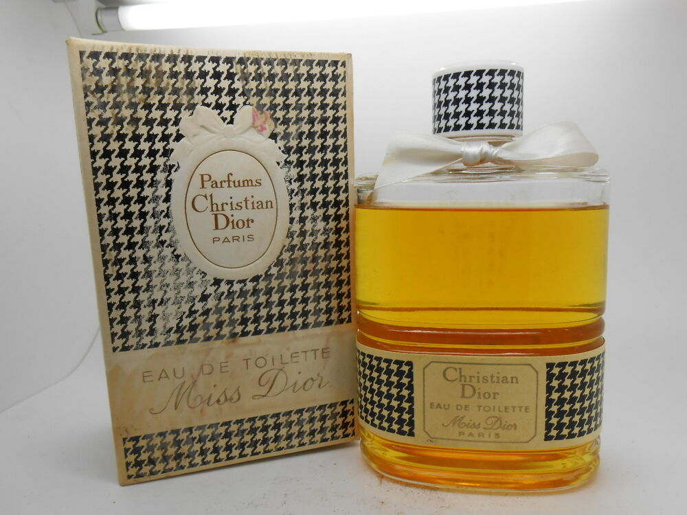 vintage christian dior miss dior 16 oz eau de toilette ebay. Black Bedroom Furniture Sets. Home Design Ideas