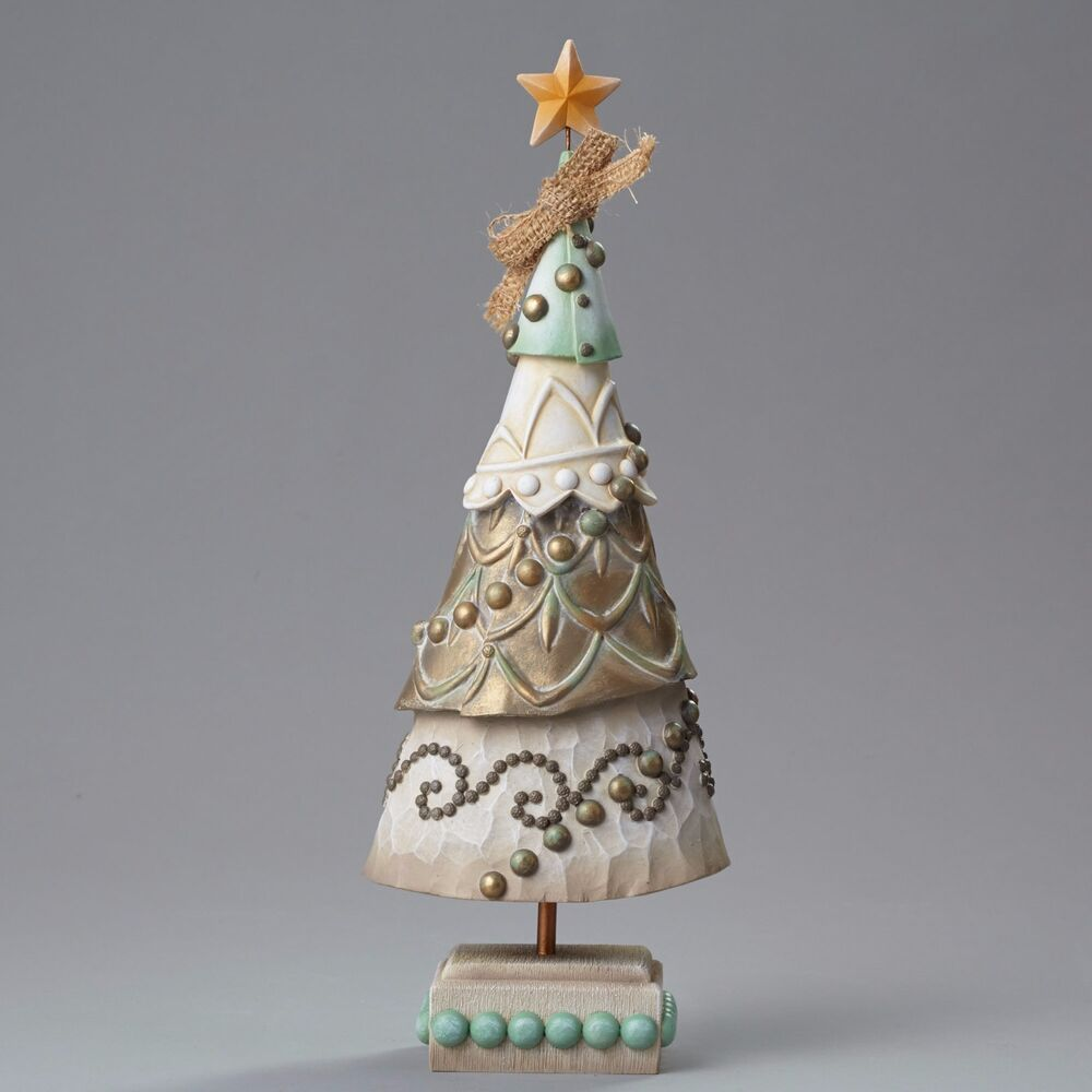 Large christmas tree figurine rivers end by jim shore