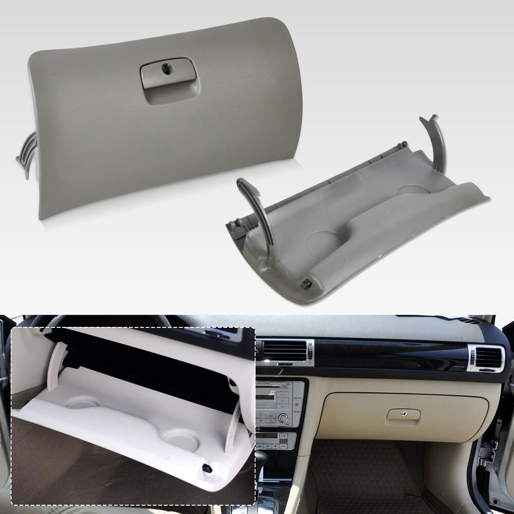 New Grey Car Storage Glove Drawer Box Cover Lid For Vw 1998