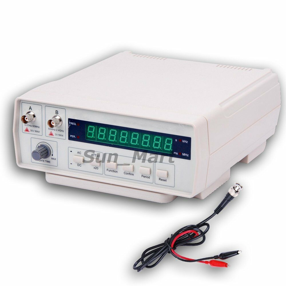 Ac Frequency Meter : Victor vc frequency counter meter hz ghz ac dc