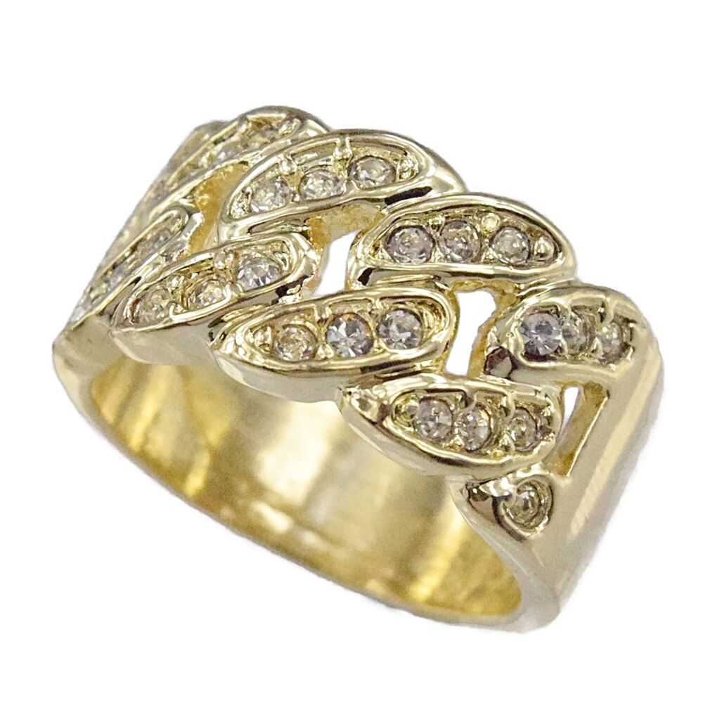 Mens Chain Link Ring