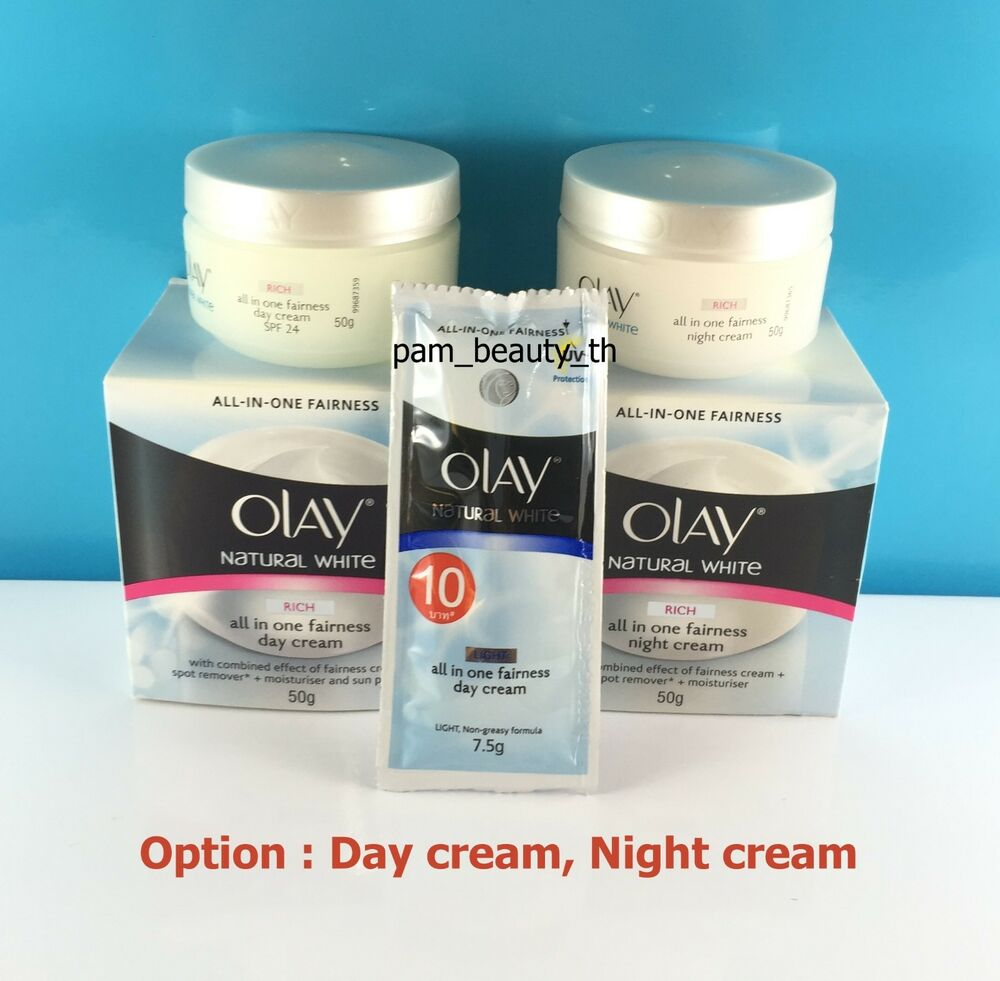 Olay Natural White Skin Sunscreen ALL IN ONE Fairness Day