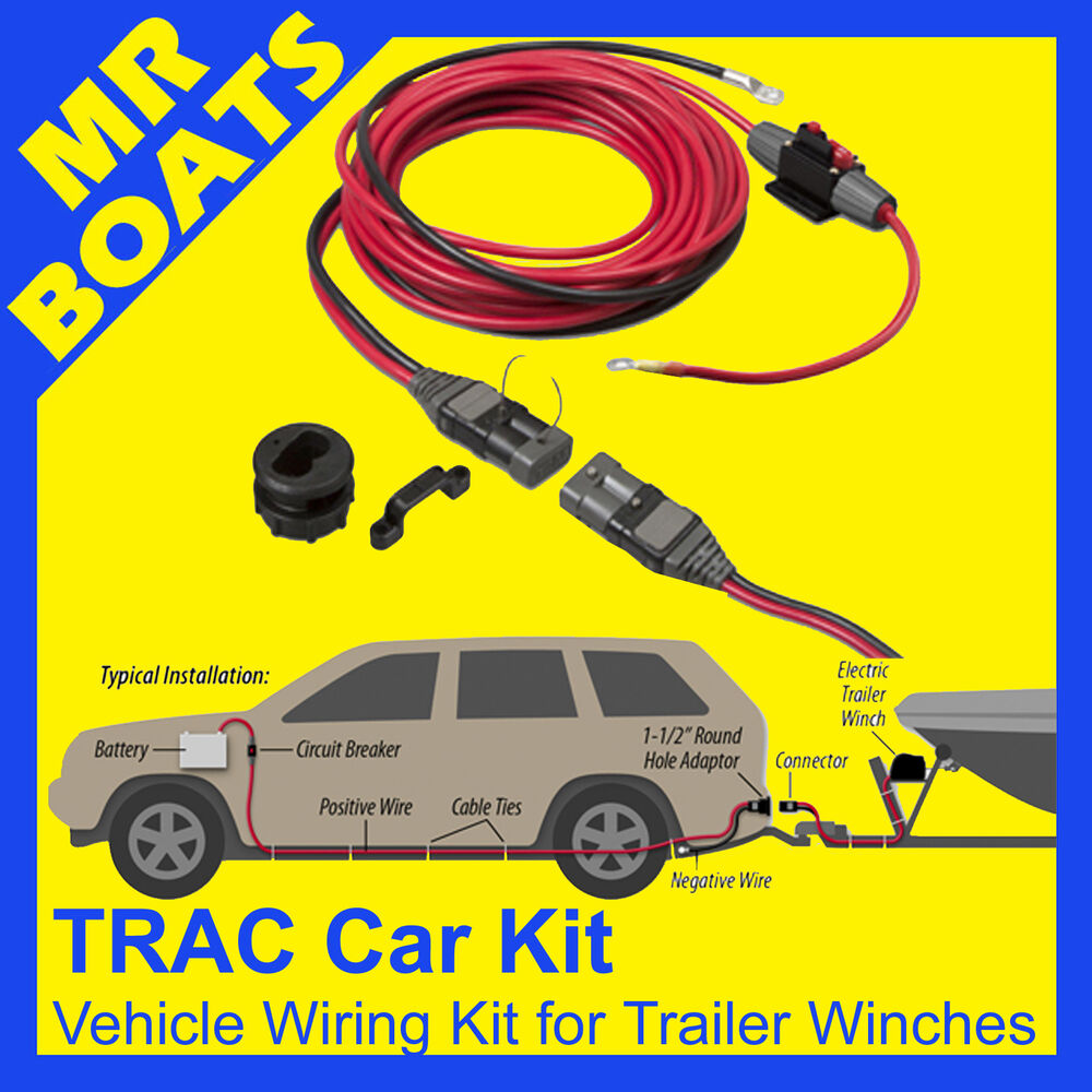 Electric Outboard Motor Kit: TRAC VEHICLE WIRING KIT Suits ELECTRIC BOAT TRAILER