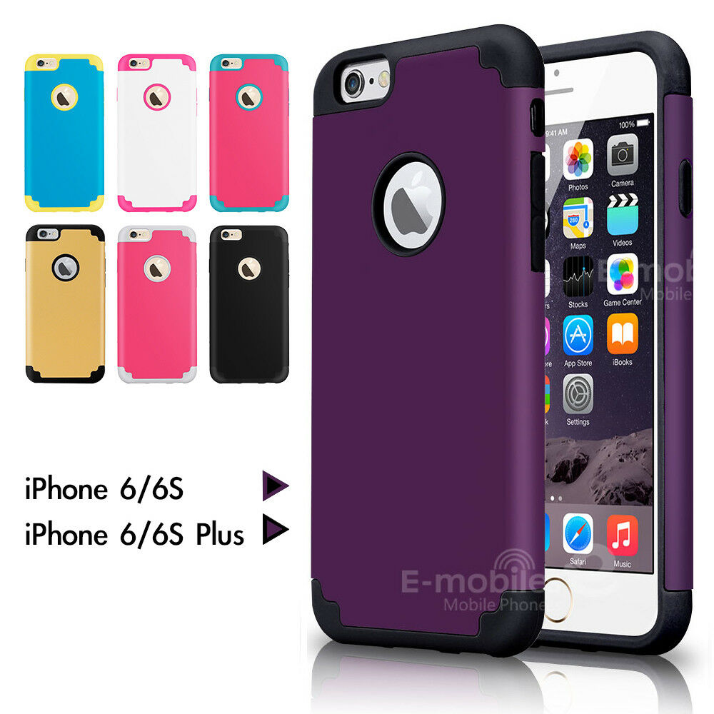 iphone 4 protective cases shockproof rugged hybrid rubber protective cover for 14394