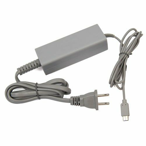 Ac Wall Charger Power Adapter Cable Cord For Nintendo Wii