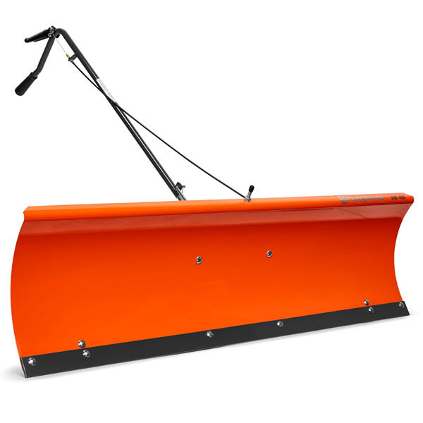 Lawn Tractor Snow Plow Attachment : Husqvarna quot tractor mount snow plow blade ebay