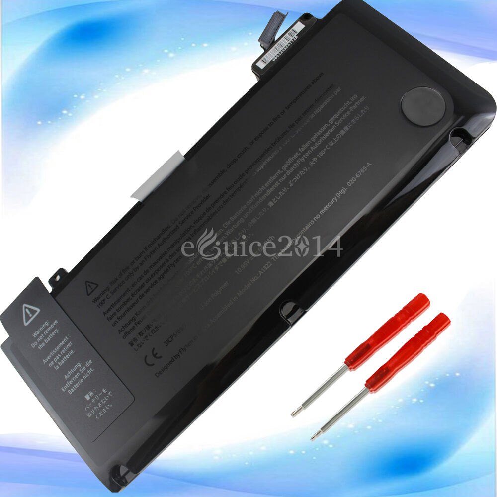 new replacement battery for apple macbook pro 13 a1322. Black Bedroom Furniture Sets. Home Design Ideas