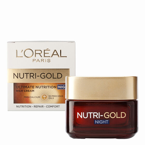 LOreal Loreal Nutri Gold Ultimate Nutrition Rich Night